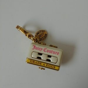 Juicy Couture Egg Carton Charm